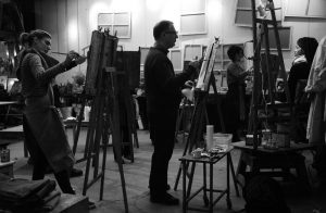 cours de peinture mardi soir Paris