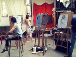 cours de peinture du vendredi